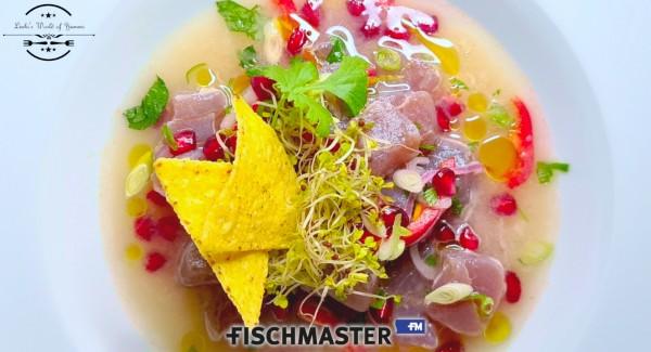 Fischmaster Thunfisch Servierbeispiel